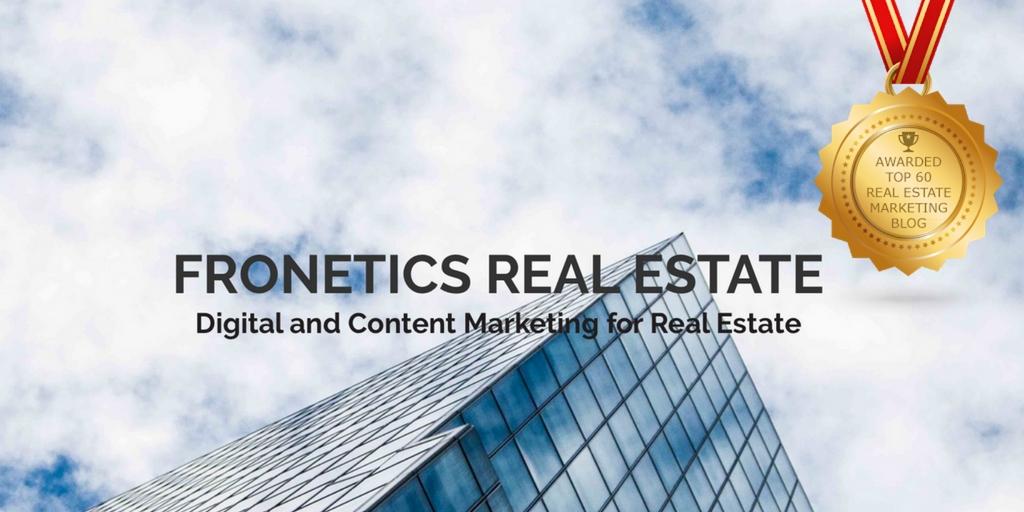 Fronetics Real Estate Blog Named Top 60 Real Estate Marketing Blog
