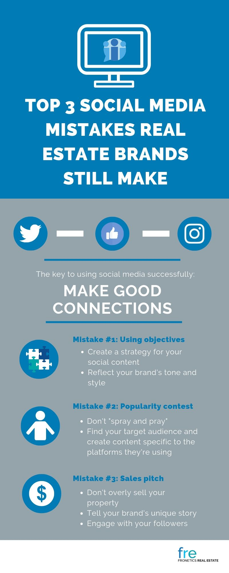 Top 3 Social Media Mistakes Real Estate Brands Still Make
